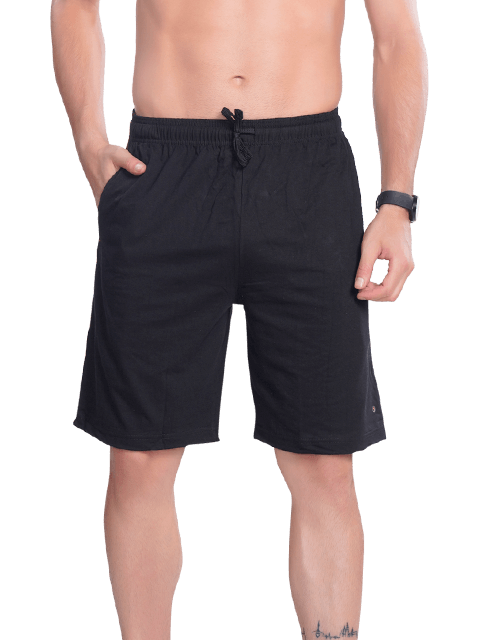 Men's Bermuda with Zipper pocket- Grey