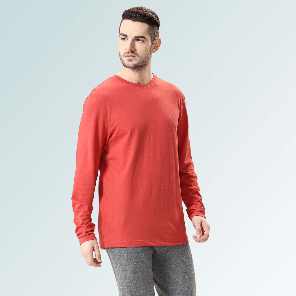 Round Neck T-shirts for men- Navy