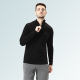Mock Neck Tee- Black - Sporto