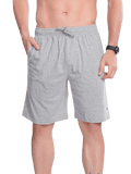 Men's Bermuda with Zipper pocket- Slate Gray