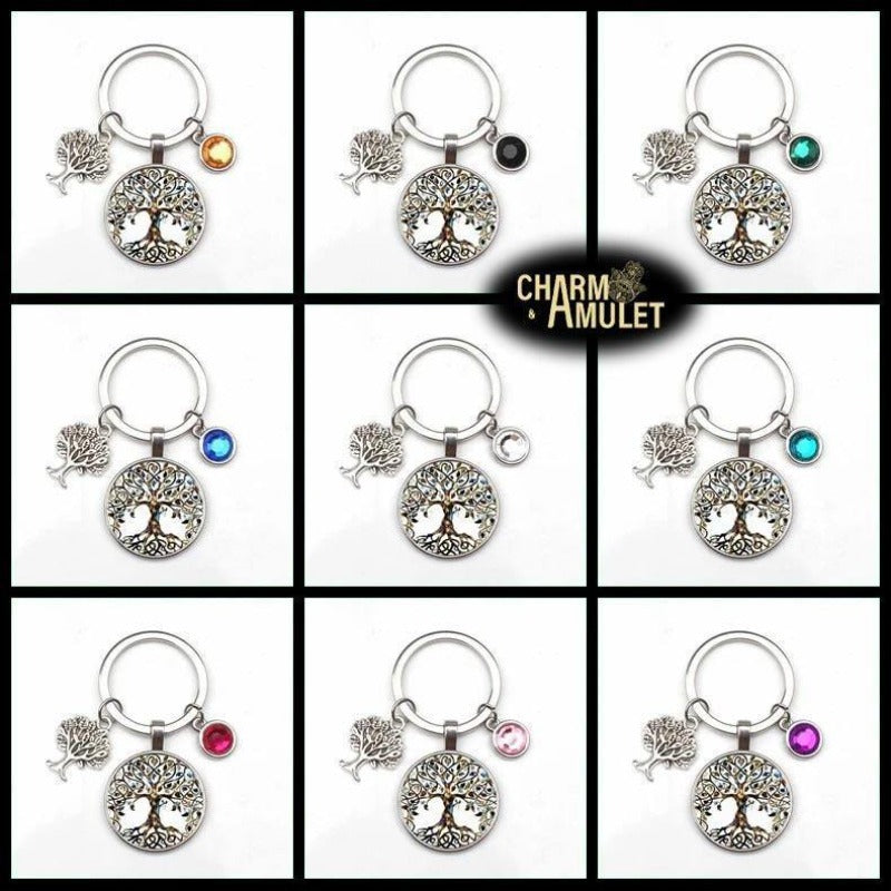 Tree of Life Keychain | Charm and Amule