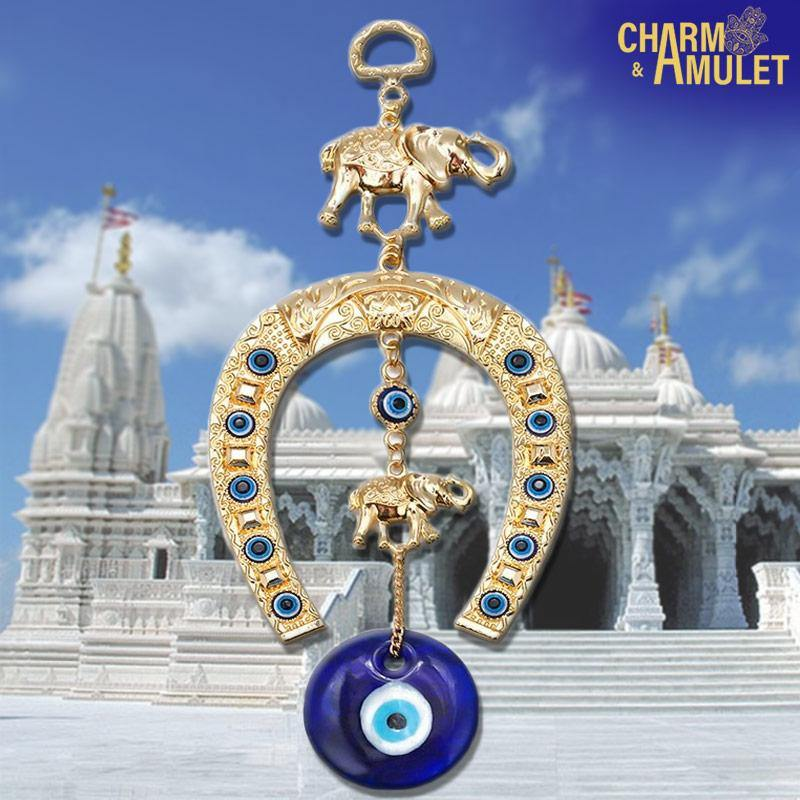 Buy Lucky Charm Horseshoe (Suspention) on sale and cheap | Charm and Amulet