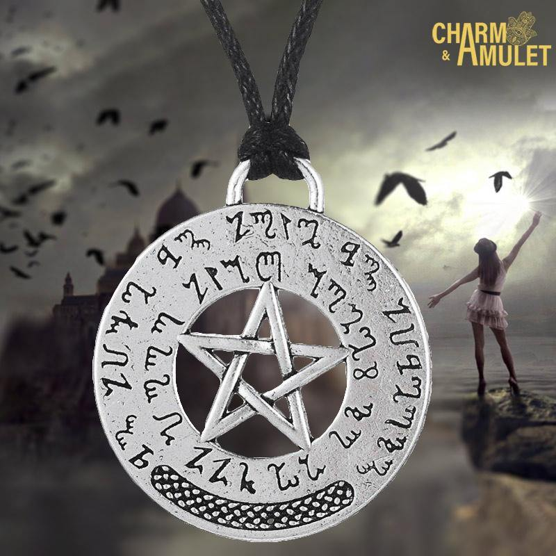 Buy Seal of Solomon Pendant Protection Pendant Necklace on sale | Charm and Amulet