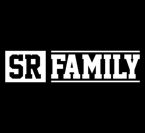 SR FAMILY WHITE DIE CUT