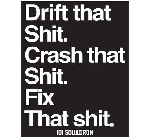 DRIFT THAT SH!T STICKER