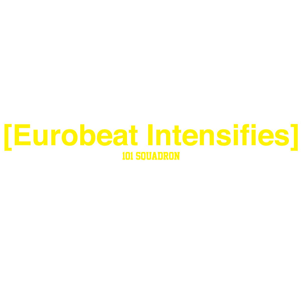 Eurobeat Intensifies Sticker