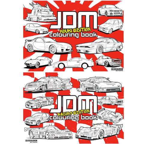 JDM Colouring Book Double Deal