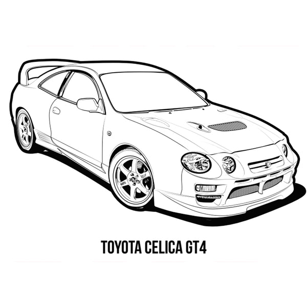 JDM Colouring book - Kouki Edition 2018