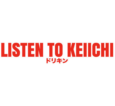 LISTEN TO KEIICHI STICKER
