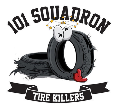 TIRE KILLERS STICKER