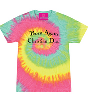 Load image into Gallery viewer, BORN AGAIN BRIGHT SWIRL TEE