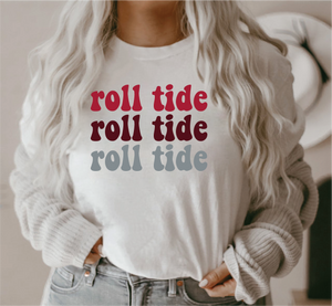 ROLL TIDE RETRO TEE