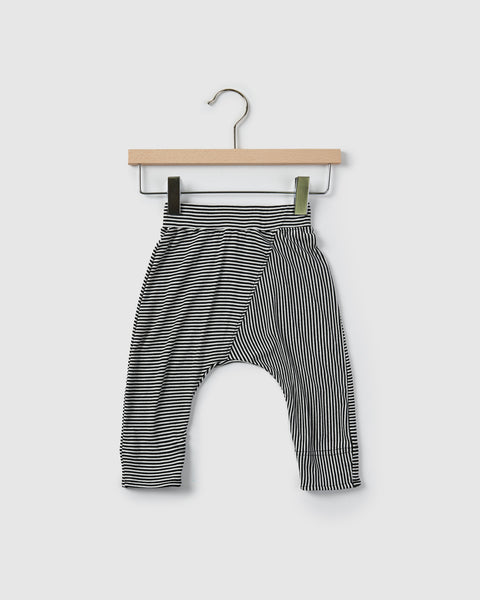 edison harem pants | black stripes