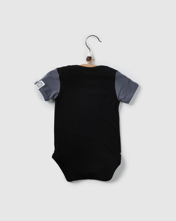 river body suite | black/ cool grey