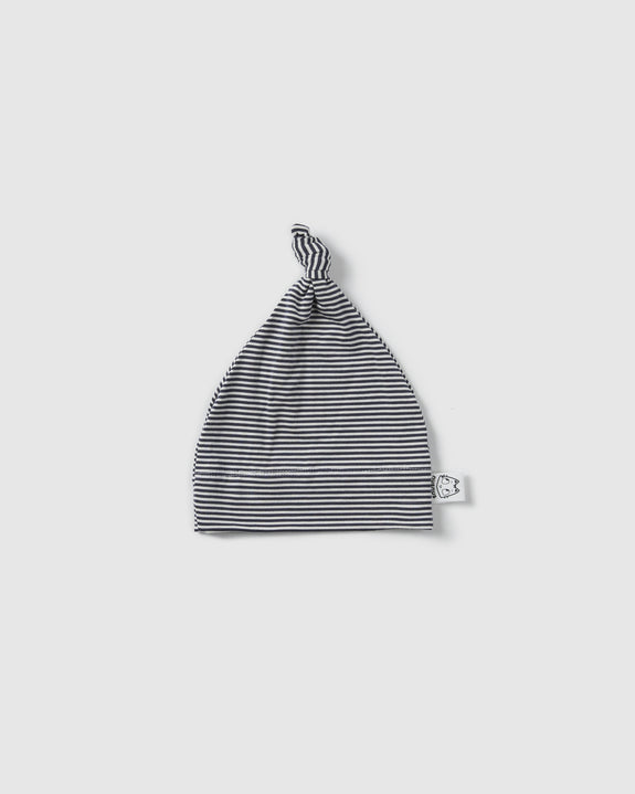 testolina beanie| cool grey stripes