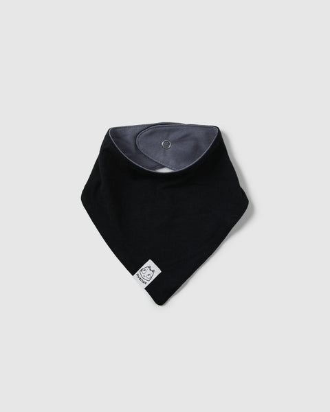 bava bib bandana | black/cool grey