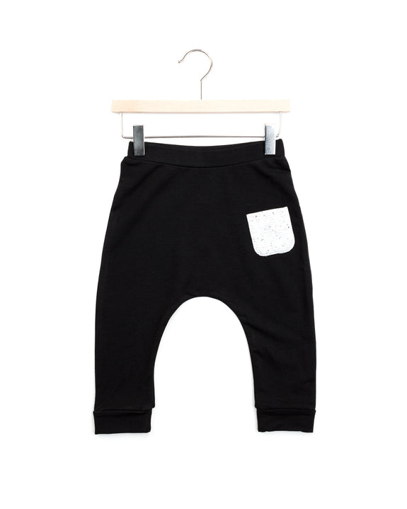 ace harem pants | black
