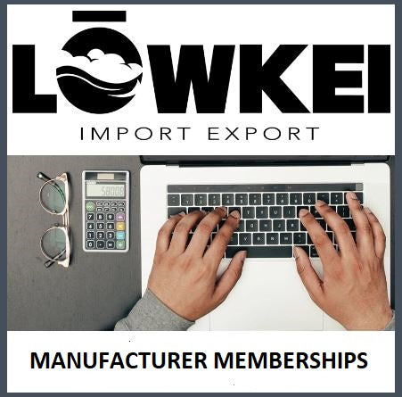 MANUFACTURER MEMBERSHIP (FREE for Limited Time) 1 Free Product