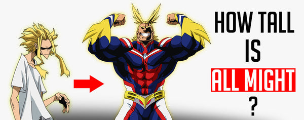 How tall is All Might ?