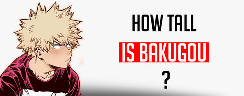 How tall is Bakugou ?