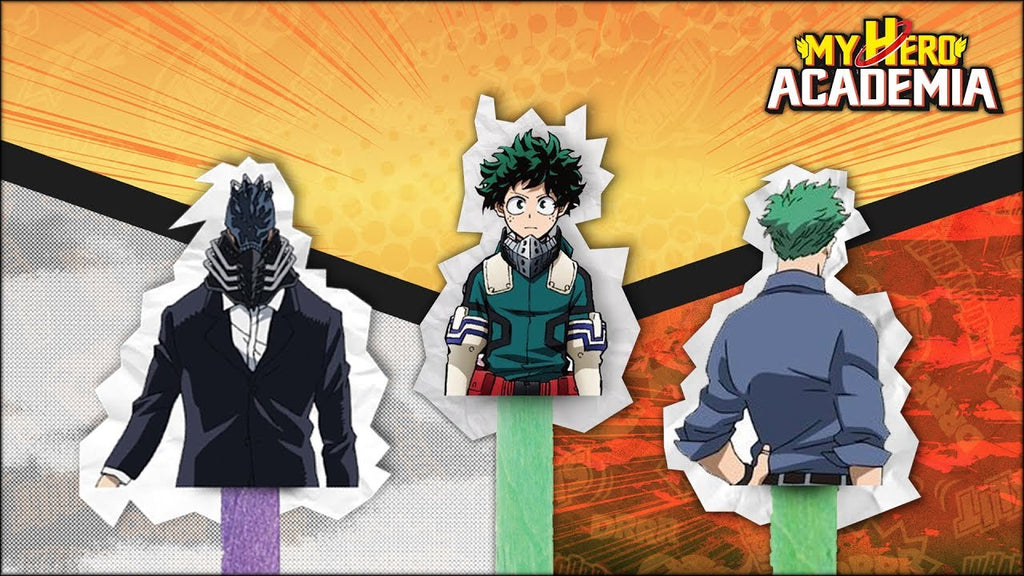 all for one is midoriya's father