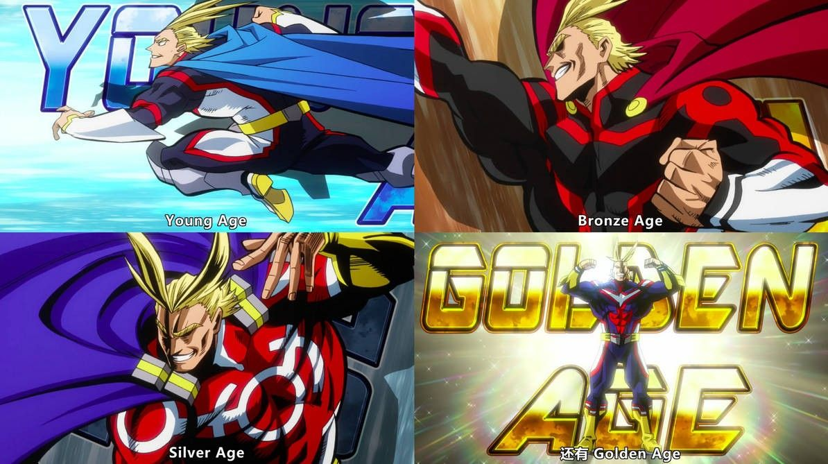all might all ages