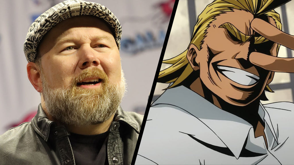 all might dub voice actor