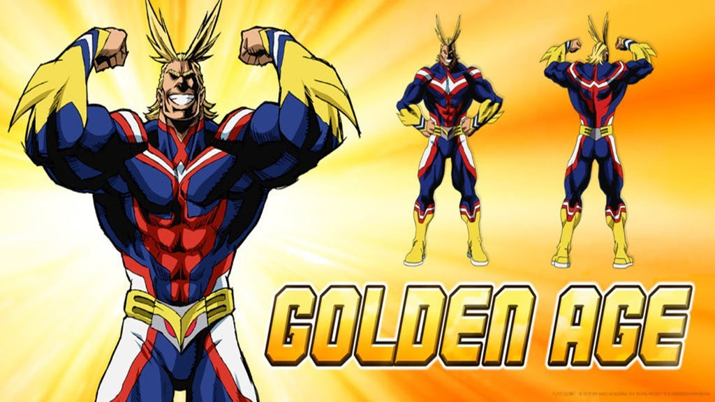 all might golden age