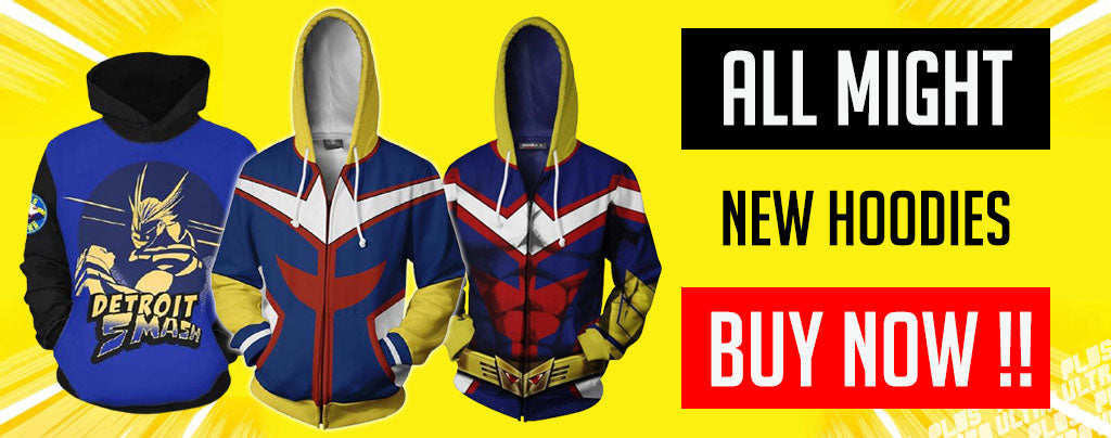 all might hoodies