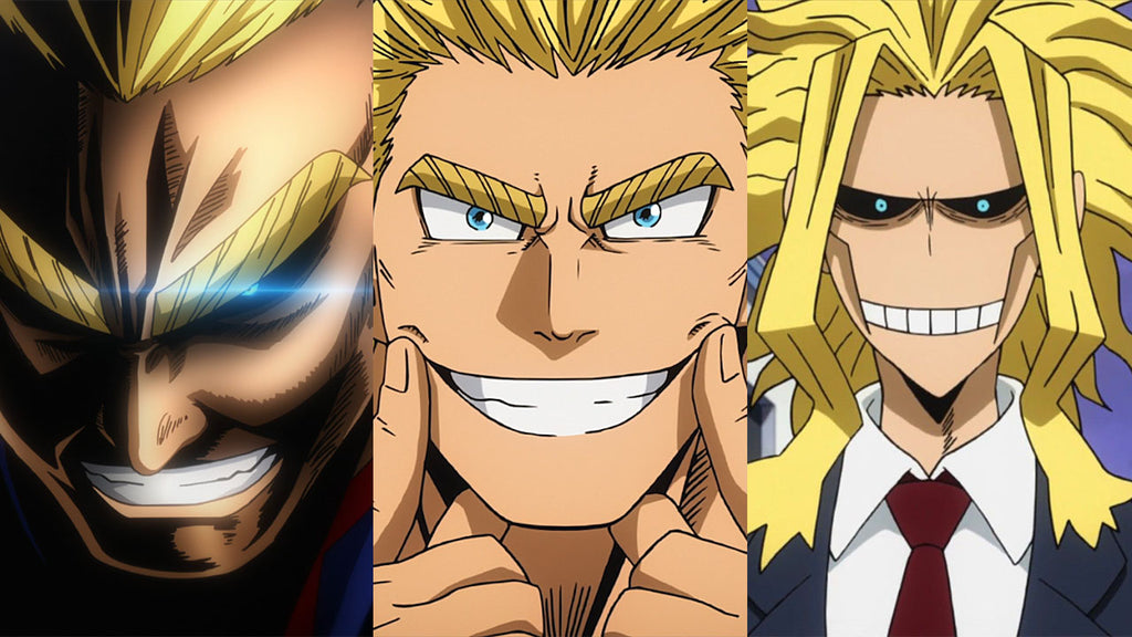 how old is all might bnha