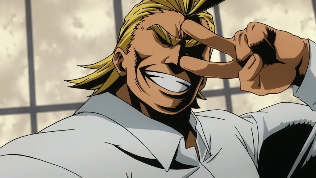 how tall is all might in feet