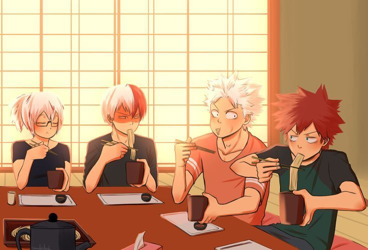 todoroki family fan art