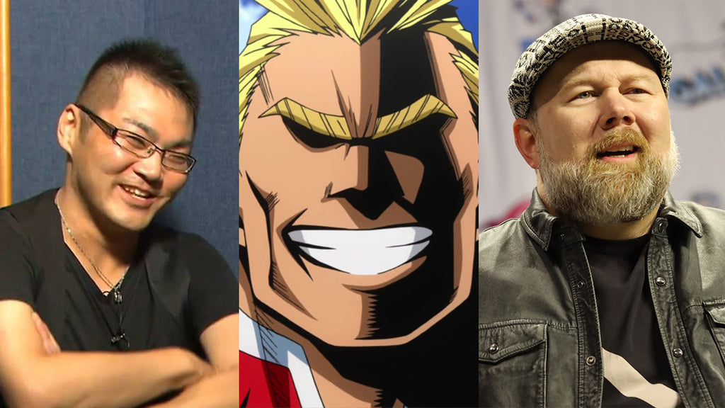 voice actor of all might