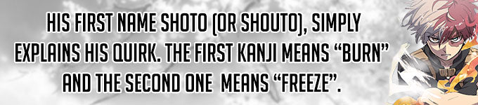 what does shoto todoroki mean in japanese
