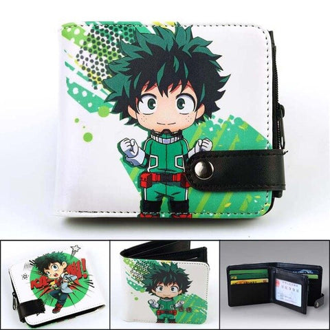 deku anime wallet
