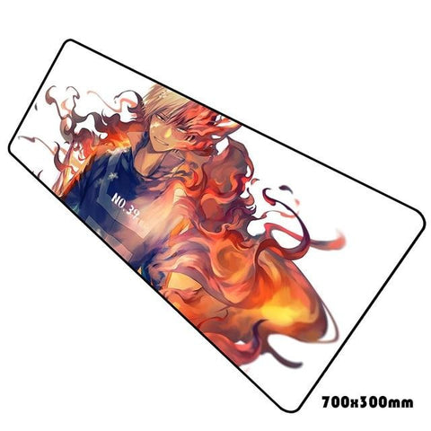 shoto todoroki anime mouse pad