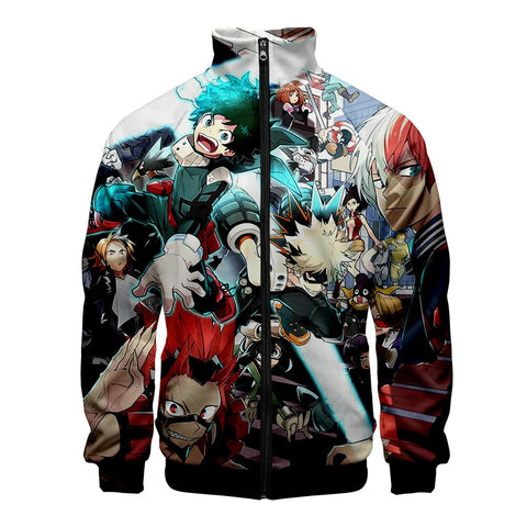 my hero academia gym track jacket