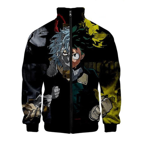 boku no hero academia bomber jacket