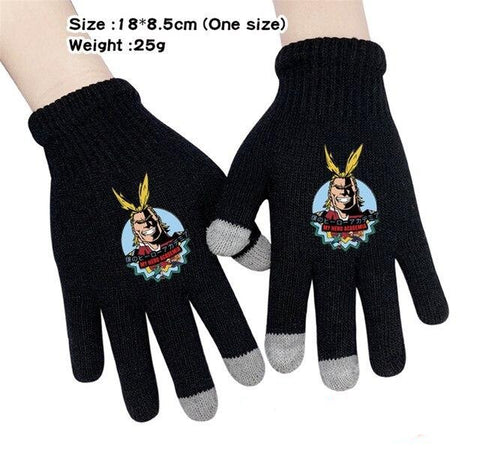symbol of peace gloves