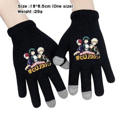 mha anime gloves
