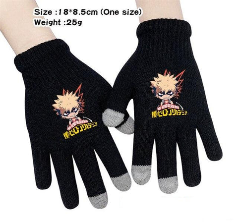 boku no hero academia bakugou gloves