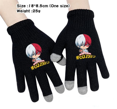 todoroki shoto gloves