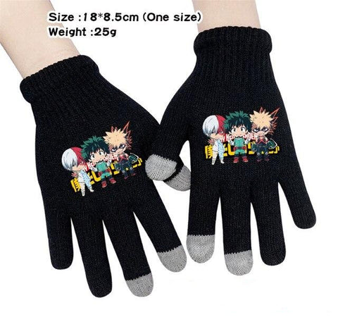 my hero academia anime gloves