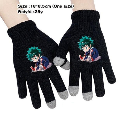 izuku midoriya new gloves