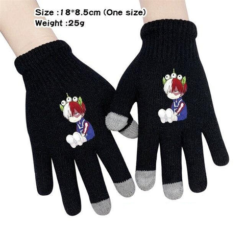 bnha todoroki gloves