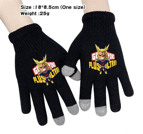 my hero academia cute gloves
