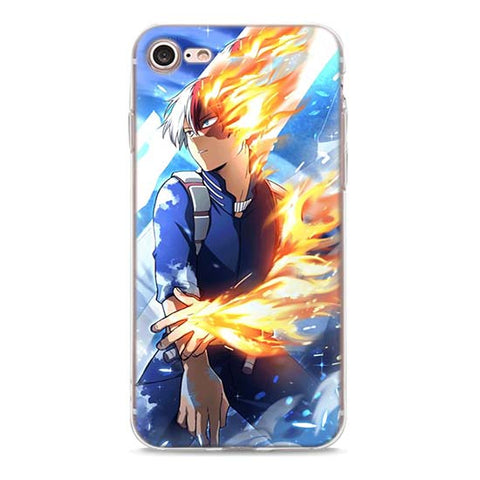 My Hero Academia iPhone Case Todoroki Shoto