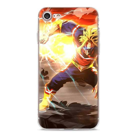 My Hero Academia iPhone Case All Might Last Blow