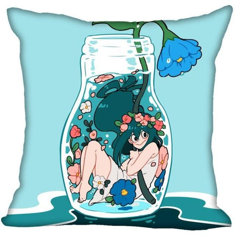 tsuyu asui pillow case