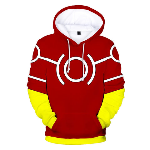 my hero academia hoodie all might